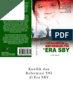 Konflik Dan Reformasi-TNI Di Era SBY