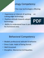 Competency Based Management Program
