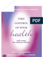 Take Control of Your Health and Escape Sickness Industry