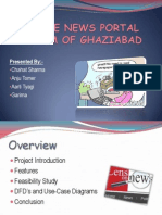 Online News Portal System