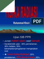 Fisika Radiasi PPR Mhs 2013