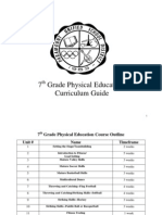 7th Grade PE Curriculum Guide