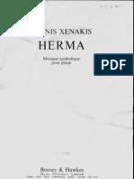Xenakis Herma