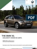 BMW X5 Catalogue