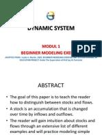 Modul 1 Sistem Dinamik