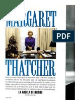 Margaret Thatcher, la abuela de hierro. Por Rosa Montero