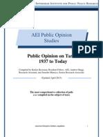 Polls on Attitudes on Taxes, 2013
