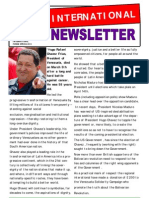 International Newsletter Spring2013