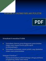 Hakekat Komunikasi Politik (Materi 1 Komunikasi Politik )