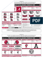 Crimson Tide Sheet