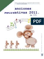 Canciones Recreativas 2011