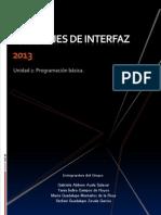 Unidad 2 Lenguaje de Interfaces