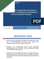 Lineamientos Administratiivos Para Elaboracion de TDR - GOVERNA