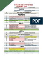 Cronograma i Nstitucional Para Imprimir