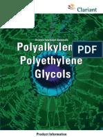 Polyalkylene Polyethylene Glycols #3