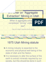Aggregate Extraction Primer