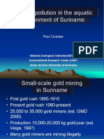 Mercury Pollution in the Aquatic Environment of Suriname