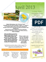 April Newsletter Dyn and Comp