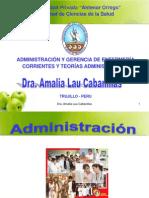 CORRIENTES Y TEORÍAS ADMINISTRATIVAS