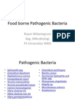 Food Borne Pathogenic Bacteria