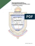 EDUC AMBIENTAL - CICLO BÁSICO DE INGENIERÍA