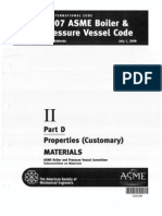 ASME II Part D Properties Customary MATERIALS 2008a Addenda