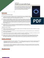 Cómo calcular el consumo de gas en un quemador de gas _ eHow en Español