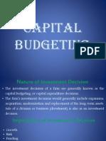 Lec 09 Capital Budgeting