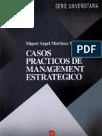 Casos Practicos de Management Estrategico - Martinez Martinez, Miguel Angel(Author)