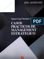 Casos Practicos de Management Estrategico - Martinez Martinez, Miguel Angel(Author)