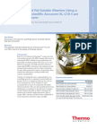 Analysis of Fat Soluble Vitamins