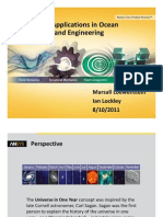 ANSYS Applications in Ocean Science and Engineering