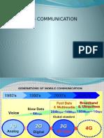 4G communication