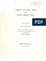 KpH PhD Studies in the Optimal Design of Flexible Chemical Plants 24feb1982 CMU