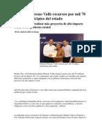 05-04-2013 Puebla noticias - Entrega Moreno Valle recursos por mil 70 mdp a municipios del estado.pdf