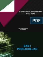 PPT kontroversi Amandemen