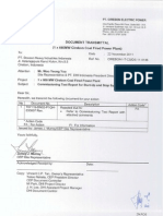 Commissioning Test Report (Auxiliary Boiler)