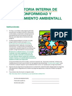 Checklist Screen Spanish