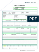 Application Form SAE 2013