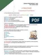 texto publicitário - características (blog8 11-12)