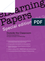 Elearning Papers 2013_[Special Edition] Outside the Classroom, Transforming Education Trough Innovation and Technology
