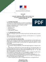 Reglement de Bourses d Excellence VN
