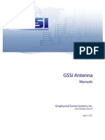 MN30903B1 GSSI Antenna Manual Compendium