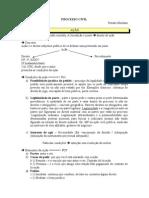 APOSTILA - Processo Civil - Renato Montans