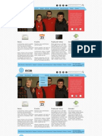 SI520 Web Page Mockup