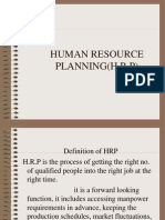 human resource planing
