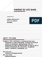 Career Planning in Uco Bank