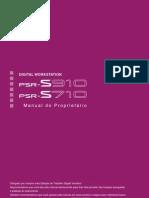 Manual Português (Yamaha PSR S910)