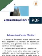 GF-Sesión 7 - Administración del Efecitvo