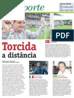 Torcendores catarinenses da Eurocopa2012 -  parte 1